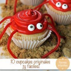 10 cupcakes originales ¡y fáciles! para fiestas