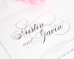 Top 10 Wedding Invitations with Script