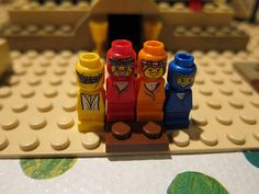 Lego Pyramid Game - the adventurers by Angelbabeali, via Flickr