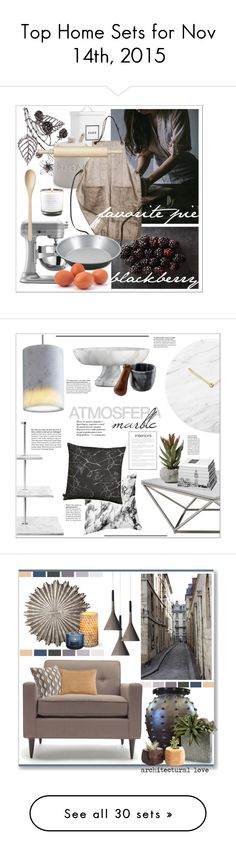 """Top Home Sets for Nov 14th, 2015"" by polyvore ❤ liked on Polyvore featuring interior, interiors, interior design, home, home decor, interior decorating, Martha Stewart, Sur La Table, Fox Run and KitchenAid"
