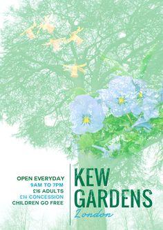 Bethany Nicholson © Kew Gardens Poster