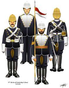 Guerra Anglo-Zulú 1879 - Británicos y Fuerza Colonial