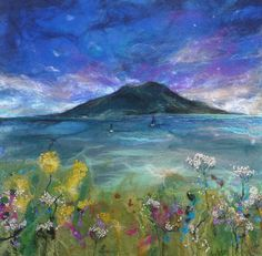 FELT TO FRAME: VISUAL IMAGERY IN FELT with Moy Mackay Aug. 26th-27th, 2014-Felting Classes
