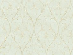 York Wallcoverings BD9179 Spa Blue Green Book Delicate Scroll Wallpaper - LightingDirect.com