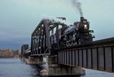 ​This railway bridge was used to conncect Onatrio to Quebec. The bridge was built and operated be the Northern Railway to supply goods to Bristol Mine, North Bay ect... Later the railway was...
