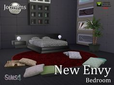 Sims 4 CC's - The Best: Bedroom by JomSimCreations
