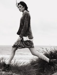 Windswept chic personified. Part of the Best Coast shoot from photographer Nick Dorey and stylist Naomi Miller as seen in Topshop's AW12 magazine.