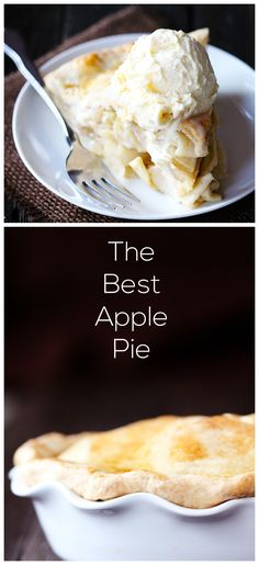 The BEST Apple Pie Recipe.  No kidding. gimmesomeoven.com #dessert #pie