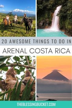 20 Awesome Things to do in Arenal Costa Rica - Adventurers' Paradise #costarica #puravida Honduras, Travel Inspiration, Travel Ideas, Travel Tips, Stuff To Do, Things To Do, South America Travel, North America, Whitewater Rafting