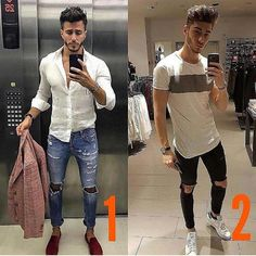 Left or Right? Pick One and Leave a Comment Style by: @marcoferri5 & @thatkrisTag us for a chance to be featured!Brand Promotion DMShoutouts DM #menswear #mensfashion #menstyle #mensstyle #ootdmen #collection #photography #creativeconcept #pink #inspiration #instafashion #londonfashion #fashionillustration #illustration #trendyclothes #fashion #swag #style #stylish #ootd #dapper #swagger #men #photooftheday #loafer #luxury #velvetslippers #mensshoe #slippers #mensfashionpost