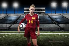 Megan Senior ~ Soccer Stadium | by ~Phamster~
