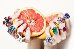lulufrost: BAUBLE OF THE DAY Juicy jewels to make your skin glow