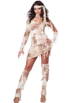 Adult Mystical Mummy Costume - Halloween Costumes at Escapade™ UK