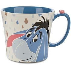Disney Eeyore Mug Fog Cutter New ($60) ❤ liked on Polyvore featuring home, kitchen & dining, kitchen gadgets & tools and disney