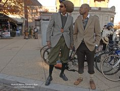 "If you're looking for inspiration, search Google and/or Flicker for ""Tweed Ride"" and you'll find plenty of vintage appeal. Description from jaxbikecoalition.org. I searched for this on bing.com/images"