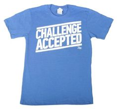 How I Met Your Mother Challenge Accepted T-Shirt (Size:Small, Color:Blue) Ripple Junction,http://www.amazon.com/dp/B004XN72S8/ref=cm_sw_r_pi_dp_qS45qb02H45DRHJN