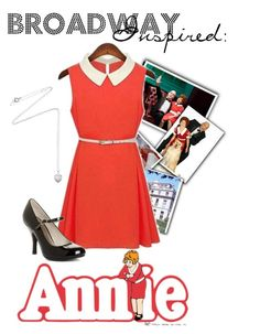 """""""Broadway Inspired: Annie"""" by modest-musts ❤ liked on Polyvore featuring ANNIE, Monday, Chinese Laundry and Estella Bartlett"""