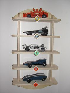 Pinewood Derby Shelf Display Kit Cub Scout Boy Scout Woodworking in Collectibles   eBay