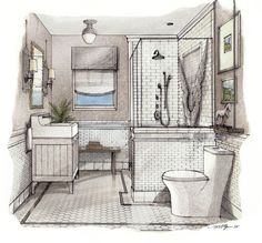 375 Randolph Main Floor Bath | Traditional Home