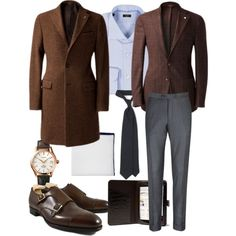 Brown in town - office inspiration Fully back in the office after Christmas holidays and traveling in Italy and the weather looks like there is still time for some decent outerwear as well as heavier...
