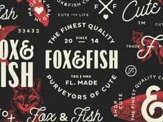 Fox&Fish refresh  by Yossi Belkin #Design Popular #Dribbble #shots
