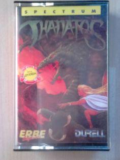 Thanatos Juego ZX Spectrum UN CLASICO