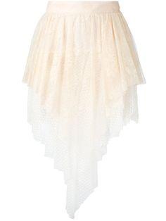 PHILOSOPHY DI LORENZO SERAFINI Layered Hem Skirt. #philosophydilorenzoserafini #cloth #skirt