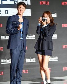 ⠀⠀⠀⠀⠀⠀⠀⠀⠀⠀⠀⠀⠀⠀⠀  180430 Press《Busted》  Press Conference   💜  Sejeong with Exo Sehun &   Park Min Young 💙  ⠀⠀⠀⠀⠀⠀⠀⠀⠀⠀⠀⠀⠀⠀⠀  #김세정 #구구단 #아이오아이   #ioi #gugudan #kimsejeong