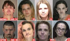 The human face of America's opioid addiction in mugshots
