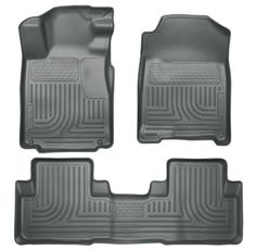 MAXLINER A0055 Floor Mats for Nissan Murano 2009-2014 1st Row Set Black