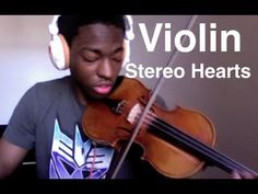 """Stereo Hearts"" Violin Cover By Eric Stanley (Gym Class Heroes feat. Adam Levine). Check out more of his videos, he is amazing."