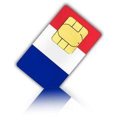 Daten-SIM-Karte für Frankreich