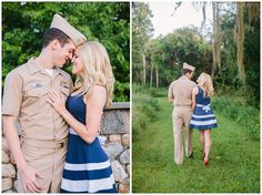 Military engagement pictures- Erica J Photography