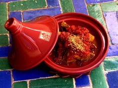 I have a tangine like this, moroccan slow cooker