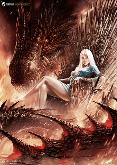 The Dragon ... so good friend with beautiful women ♡