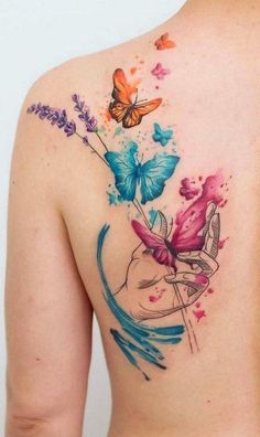Adorable Back Tattoos For Women Inspiration - Tattoos - Tatuagem Mini Tattoos, Trendy Tattoos, Cute Tattoos, Beautiful Tattoos, Body Art Tattoos, Small Tattoos, Sleeve Tattoos, Tatoos, Heart Tattoos