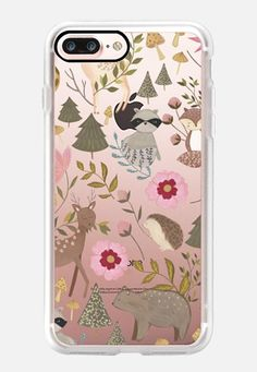 Casetify iPhone Classic Grip Case - Woodland by Bianca Pozzi Iphone 7 Plus Cases, Phone Cases, Cool Tech, Iphone Se, Tech Accessories, Casetify, Woodland, Birthday, Awesome Stuff
