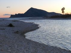 Sunset by the river in Altea after days and days of rain.