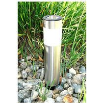 Shop for Stainless Steel Long Tube Solar-powered Lights (Set of Get free delivery On EVERYTHING* Overstock - Your Online Outdoor Lighting Store! Driveway Lighting, Patio Lighting, Landscape Lighting, Walkway Lights, Solar Tube Lighting, Solar Lights, Solar Lamp, Solar Powered Garden Lights, Gardens
