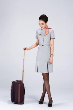 Air Hostage, Office Uniform, Promotional Model, Batik Fashion, Work Uniforms, Cozy Fashion, Cabin Crew, Flight Attendant, These Girls