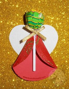 1 million+ Stunning Free Images to Use Anywhere Lollipop Decorations, Easy Christmas Decorations, Christmas Craft Projects, Christmas Favors, Crochet Christmas Ornaments, Christmas Angels, Simple Christmas, Christmas Holidays, Lollipop Craft