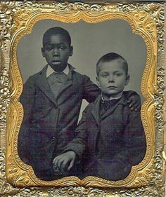 Love this--children from another time--friends.