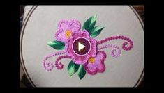 Brazilian Embroidery Design Buttonhole stitch design Hand embroidery for flower design Brazilian Embroidery Stitches, Basic Embroidery Stitches, Hand Embroidery Flowers, Hardanger Embroidery, Types Of Embroidery, Learn Embroidery, Embroidery Techniques, Embroidery Patterns, Machine Embroidery