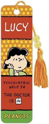 Peanuts Lucy - Collectors Beaded Bookmark