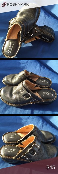 BOC by Born size 7 Like new Born Shoes Mules & Clogs