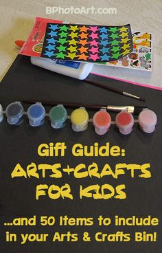 Gift Guide: Arts and Crafts for Kids