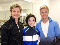 Derek Hough Choreographs Olympic Ice-Dancing Routine. After 16 years of skating together and a frustrating second-place silver at Vancouver, ice dancers Meryl Davis and Charlie White are hoping ballroom choreography by five-time Dancing with the Stars champ Derek Hough will give them the edge at Sochi.