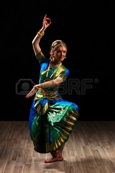 Picture of Young beautiful woman dancer exponent of Indian classical dance Bharatanatyam in Shiva pose stock photo, images and stock photography. Isadora Duncan, Folk Dance, Dance Art, Indian Classical Dance, Dance Paintings, India Art, Dance Poses, Dance Photography, Female Photography