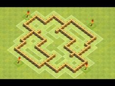 Clash Of Clans Town Hall 5 Best Defense Base! - YouTube