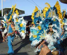 Enjoying an Aruba Carnival
